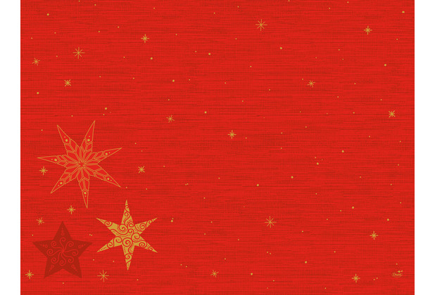 Duni Dunicel-Tischsets 30 x 40 cm Star Stories Red