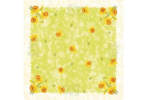 Duni Dunicel® Mitteldecken Spring Flowers 84 x 84 cm 1 Stück