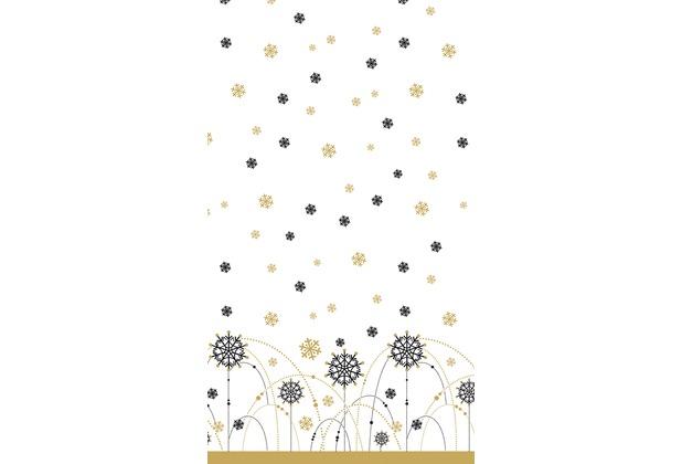 Duni Dunicel Tischdecken Snow Necklace White 138 x 220 cm 1 Stück