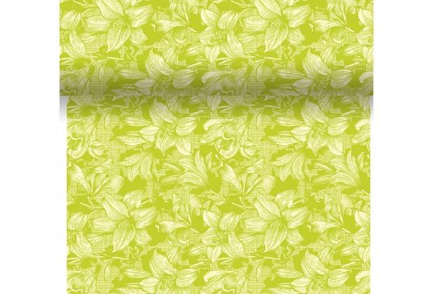 Duni Dunicel® Tischläufer 3 in 1 Firenze Lime 0,4 x 4,80 m 1 Stück