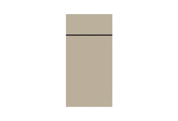 Duni Duniletto Slim Uni greige, 40 x 33 cm, 65 Stück