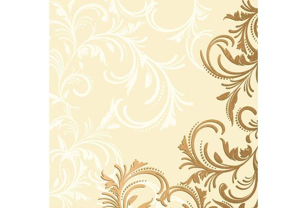 Duni dunilin servietten 40 x 40 cm grace cream 12 st ck for Duni servietten weihnachten
