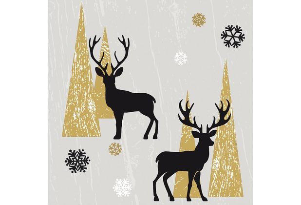 Duni Dunilin® Servietten Oh Deer 40 x 40 cm 12 Stück