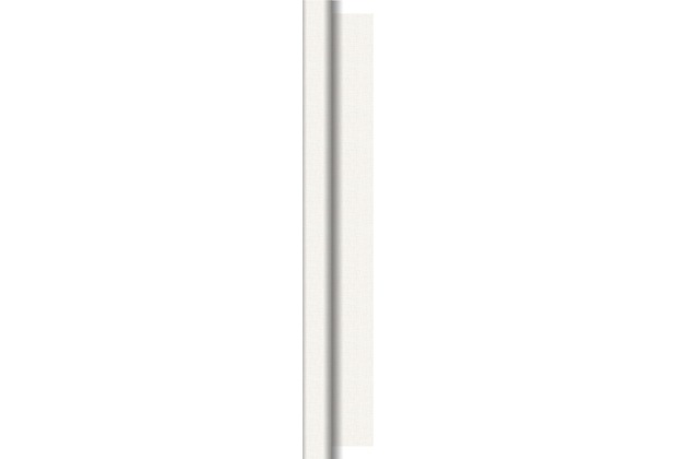 Duni Dunisilk-Tischdeckenrollen Linnea weiß 1,18 m x 25 m 1 Stück