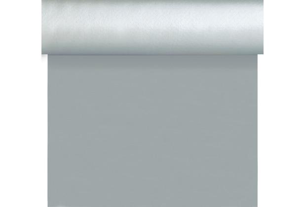 Duni Dunisilk+ Tischläufer 3 in 1 silber 0,4 x 4,8 m 1 Stück