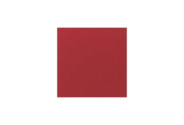 Duni Dunisoft-Servietten 20 x 20 cm 1/4 Falz rot, 180 Stück