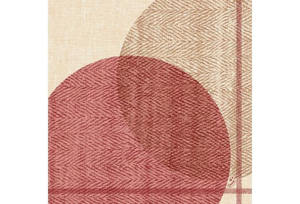 Duni Dunisoft-Servietten Gravito 40 x 40 cm 60 Stück