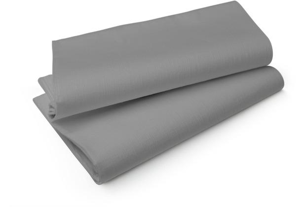 Duni Evolin-Mitteldecken Wow granite grey 84 x 84 cm 14 Stück