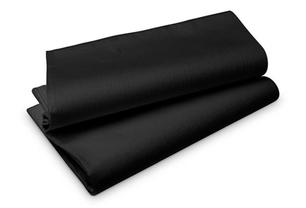 Duni Evolin-Mitteldecken schwarz 84 x 84 cm 14 Stück