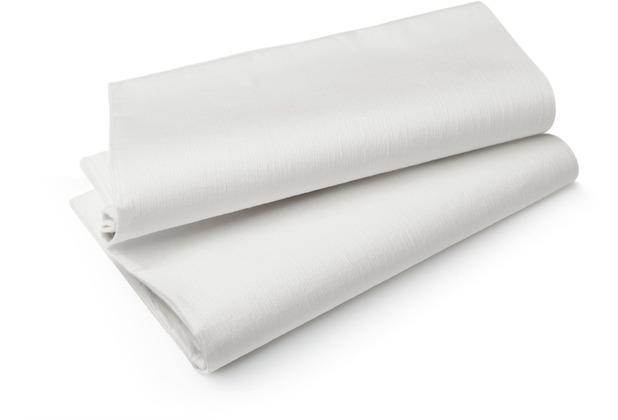 Duni Evolin-Mitteldecken Wow weiß 84 x 84 cm 14 Stück