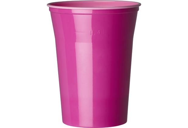 Duni Gläser Plastik Colorix 50 cl   10 Stück pink