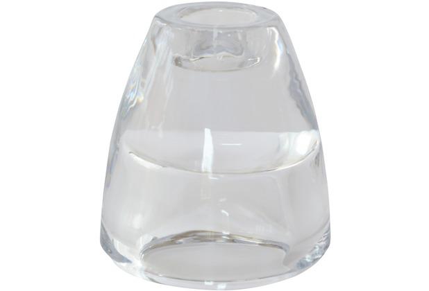 Duni Glas-Kerzenhalter 2in1 klar, 6 Stück
