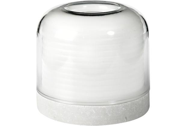 Duni Kerzenhalter Stella weiß 73 x 82 mm 1 Stück