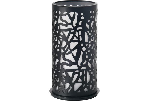 Duni Kerzenhalter Twist schwarz, Metall 140 x 75 mm 1 Stück