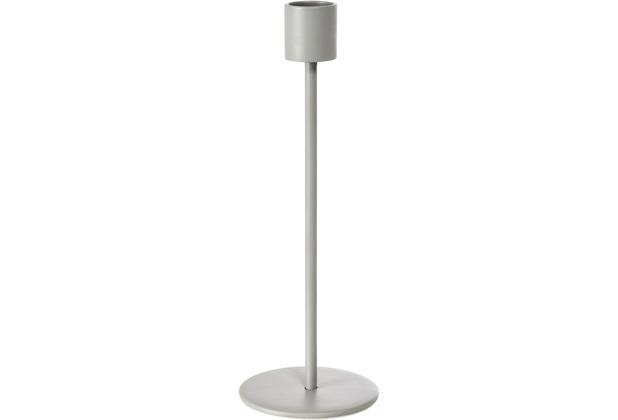 Duni Kerzenständer Soul groß grey soft, Metall 200 x 70 mm 1 Stück