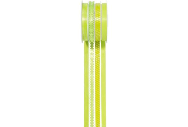 Duni Multispulen 4 x 3,5 m x 10 mm 1 Stück apfelgrün