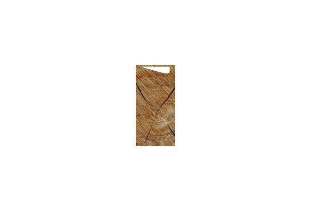 Duni Sacchetto Serviettentasche Motiv Wood, 8,5 x 19 cm, Tissue Serviette 2lagig weiß, 100 Stück