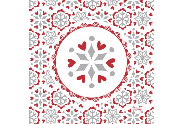 Duni Servietten Tissue 33 x 33 cm Scandi 20er Pack