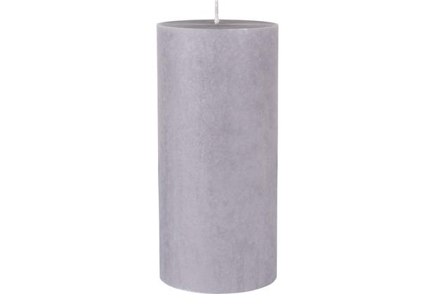 Duni Stumpenkerzen grey ø 7 cm, Höhe 15 cm 1 Stück