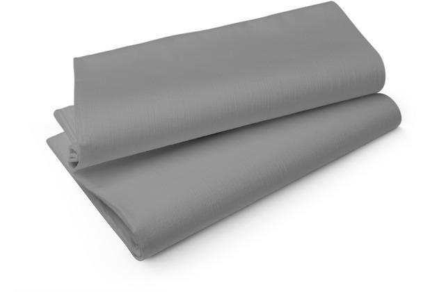 Duni Tischdecken aus Evolin Uni granite grey, 127 x 127 cm, 50 Stück