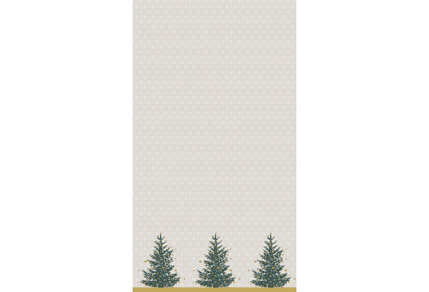 Duni Tischdecken Dunicel® 138 x 220 cm Trees in Gold 1er Pack