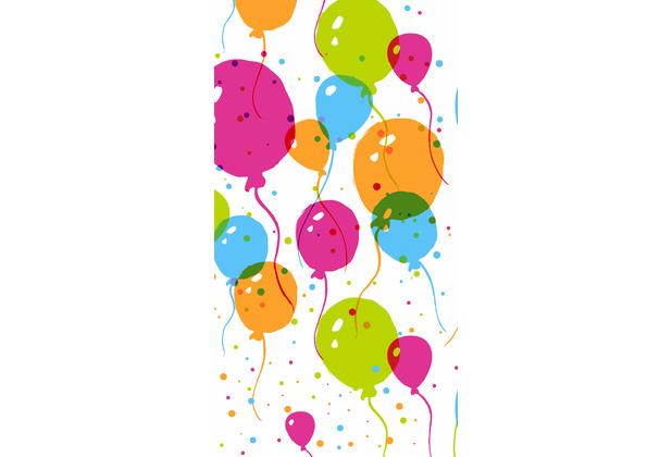 Duni Tischdecken Papier Splash balloons 120 x 180 cm 1 Stück