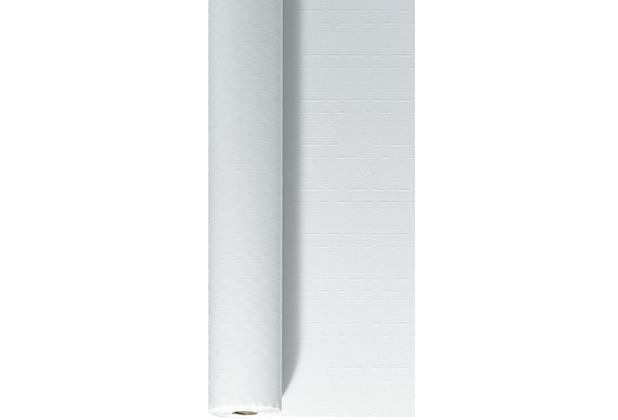 Duni Tischdeckenrolle aus Papier Uni weiß, 1 x 100 m
