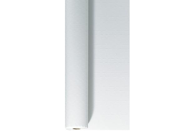 Duni Tischdeckenrolle aus Papier Uni weiß, 1 x 50 m