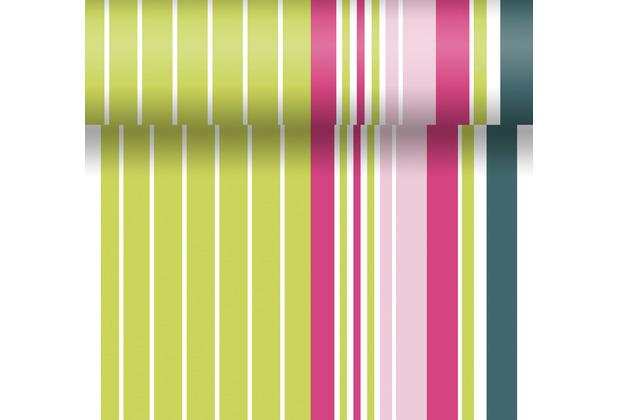 Duni Tischläufer Dunicel® Chameleon stripes 0,4 x 4,80 m 1 Stück