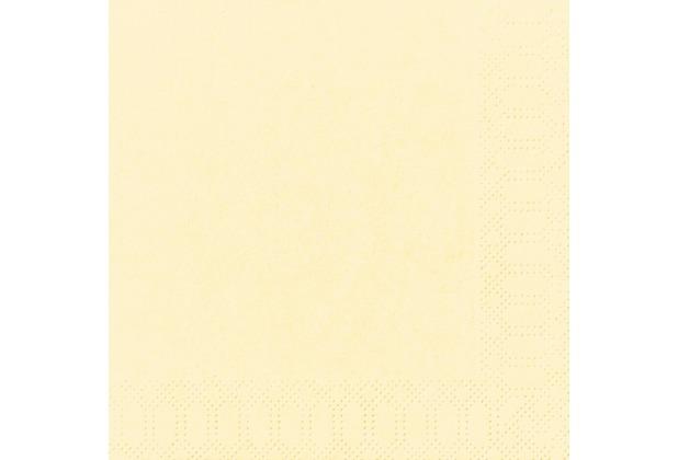 Duni Tissue Servietten cream 33 x 33 cm 50 Stück