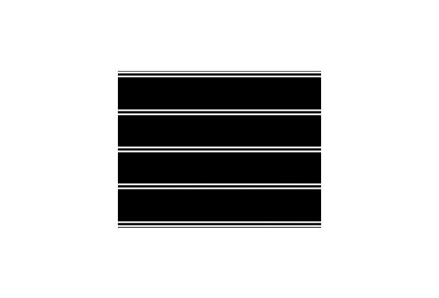 Duni Zelltuch-Servietten 24 x 24 cm 3 lagig 1/4 Falz Black & White, 50 Stück