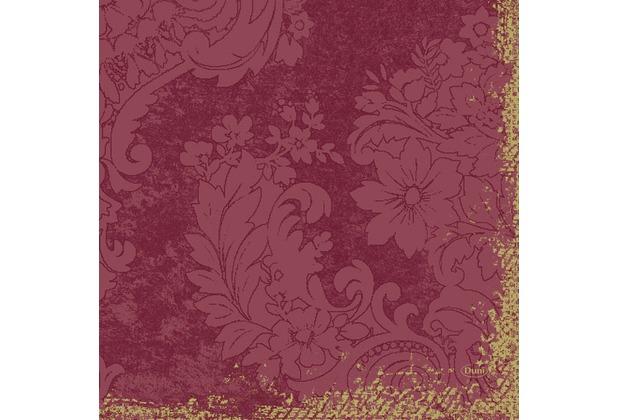 Duni Zelltuch-Servietten 3 lagig 1/4 Falz 33 x 33 cm Royal Bordeaux, 250 Stück