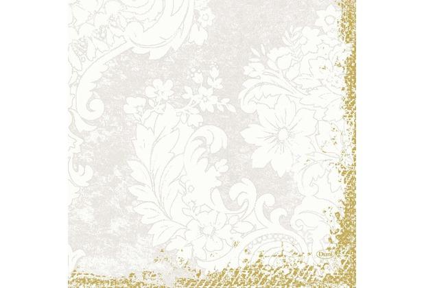 Duni Zelltuch-Servietten 3 lagig 1/4 Falz 33 x 33 cm Royal White, 50 Stück