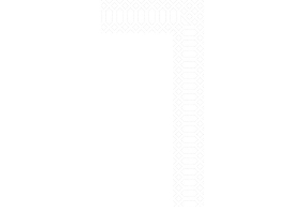 Duni Zelltuch-Servietten Uni weiß 40x40 cm 2lagig, 1/8 Kopffalz 300 St.
