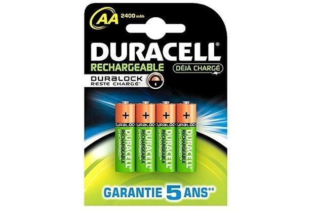 Duracell Battery Supreme Akku AA 4er 2400mAh Precharged