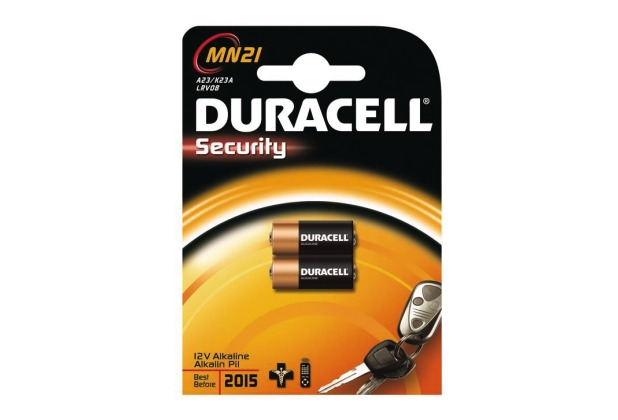 Duracell MN21 / A23 / V23GA / 23A, Security, 2er Blister