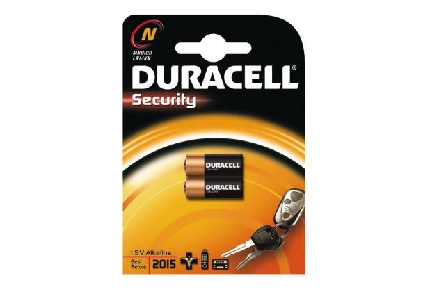 Duracell MN 9100 (N) Security 2er Blister,