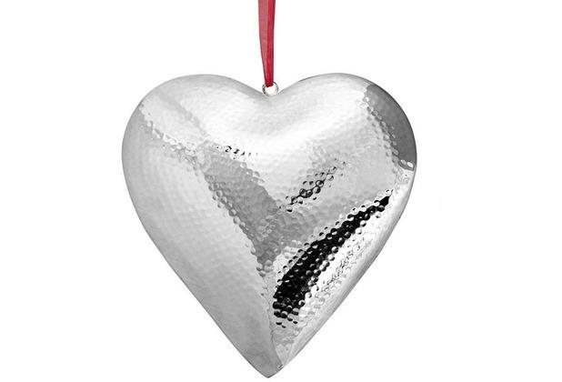 EDZARD Anhänger Herz gehäm. 23 x 23 cm