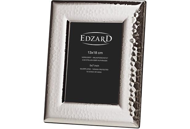 EDZARD Bilderrahmen Positano silberfarben 13x 18cm