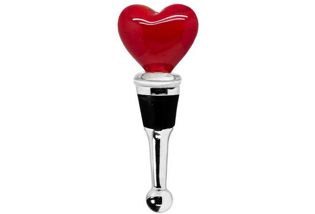 EDZARD Flaschenverschluss Herz H 10 cm