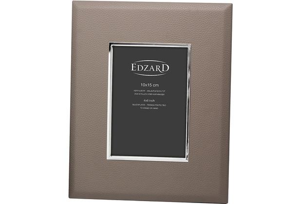 EDZARD Fotorahmen Finn 10x15 cm, grau