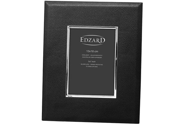 EDZARD Fotorahmen Geno 13x18 cm, schwarz