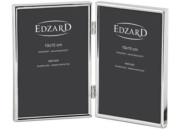 EDZARD Fotorahmen Genua für 2 Bilder 10x15 cm