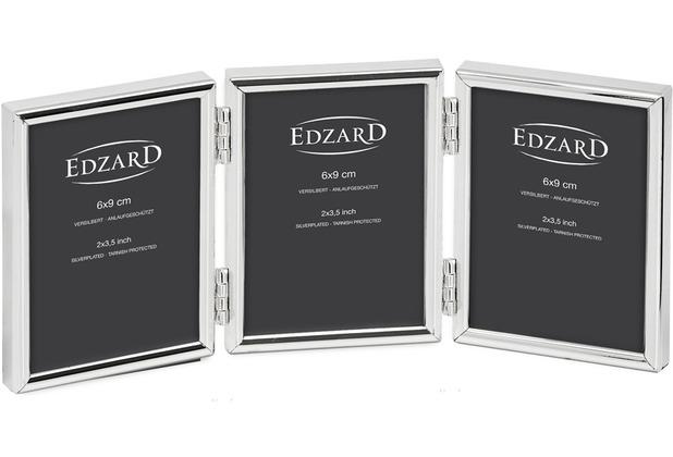 EDZARD Fotorahmen Genua für 3 Bilder 6x9 cm