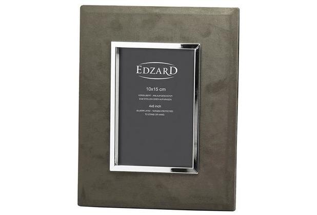EDZARD Fotorahmen Ruby 10x15 cm, braun