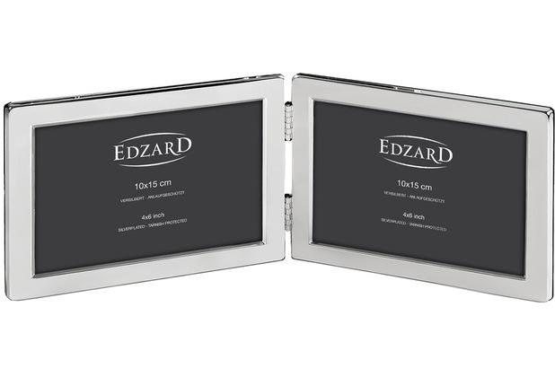 EDZARD Fotorahmen Salerno 2x 10x15 cm