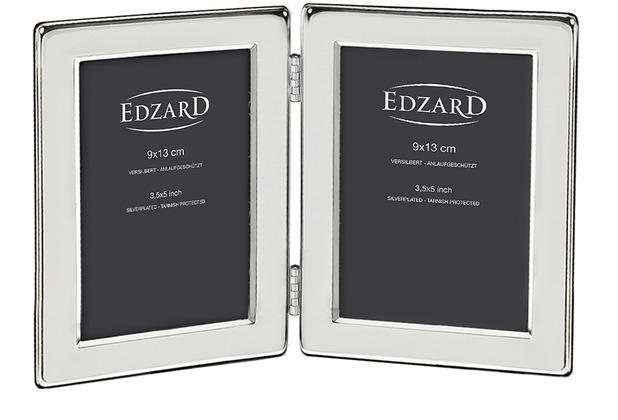 EDZARD Fotorahmen Salerno für 2 Bilder 9x13 cm