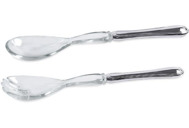 EDZARD Salatbesteck Faden L 24 cm