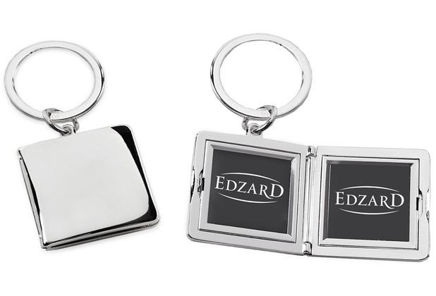 EDZARD Schlüsselanhänger Quadro m. Fotor