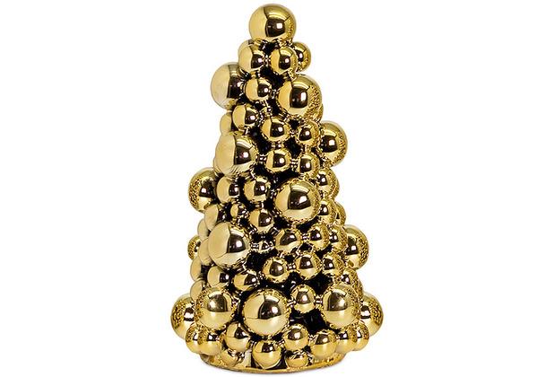EDZARD Tannenbaum Gold H 22 cm